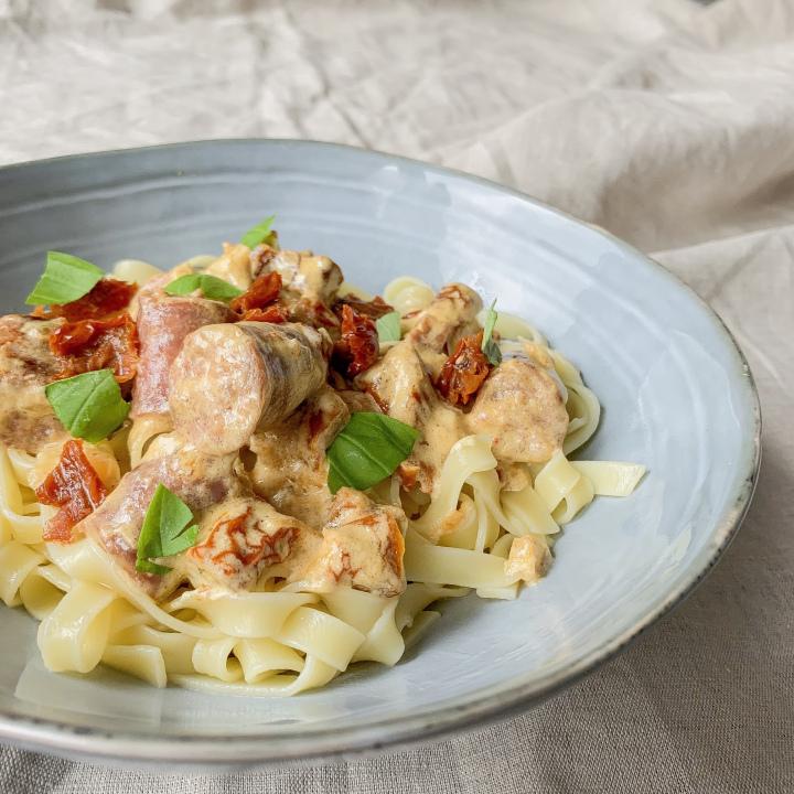 Tagliatelles sauce italienne