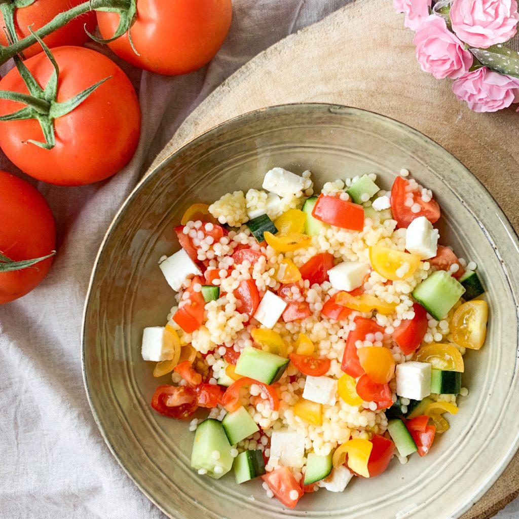 Salade de couscous perle