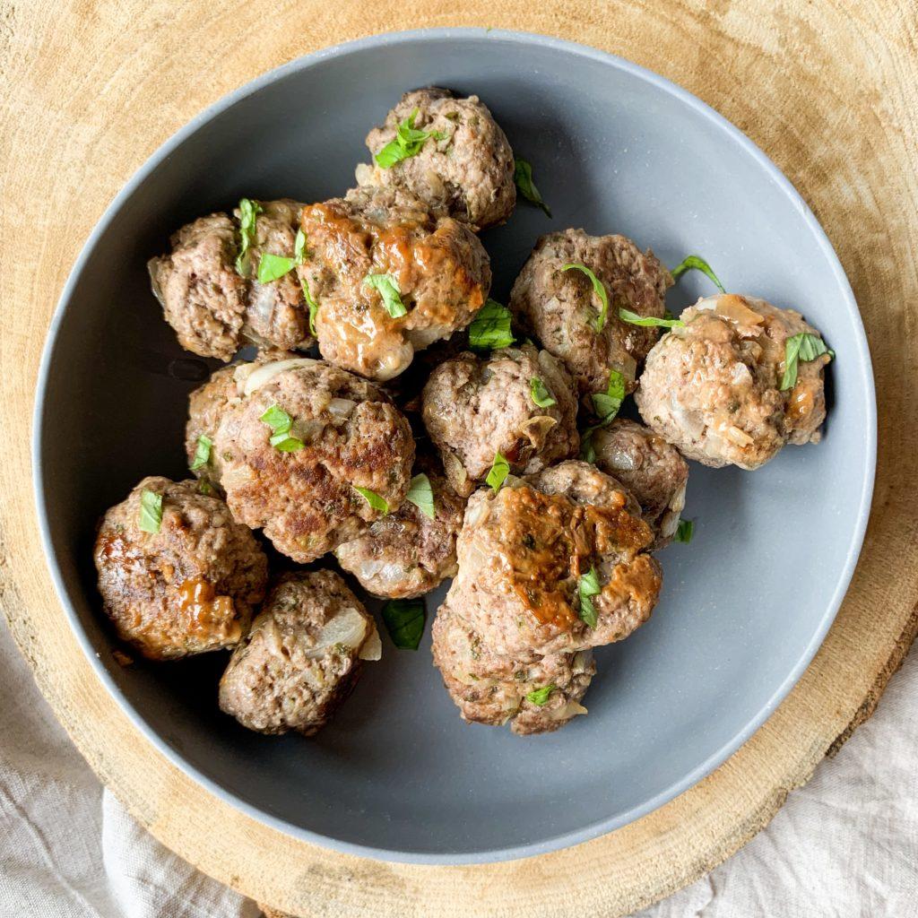 Boulettes de viande à la libanaise