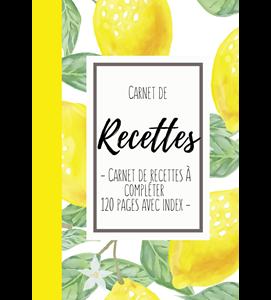 Carnet de recette