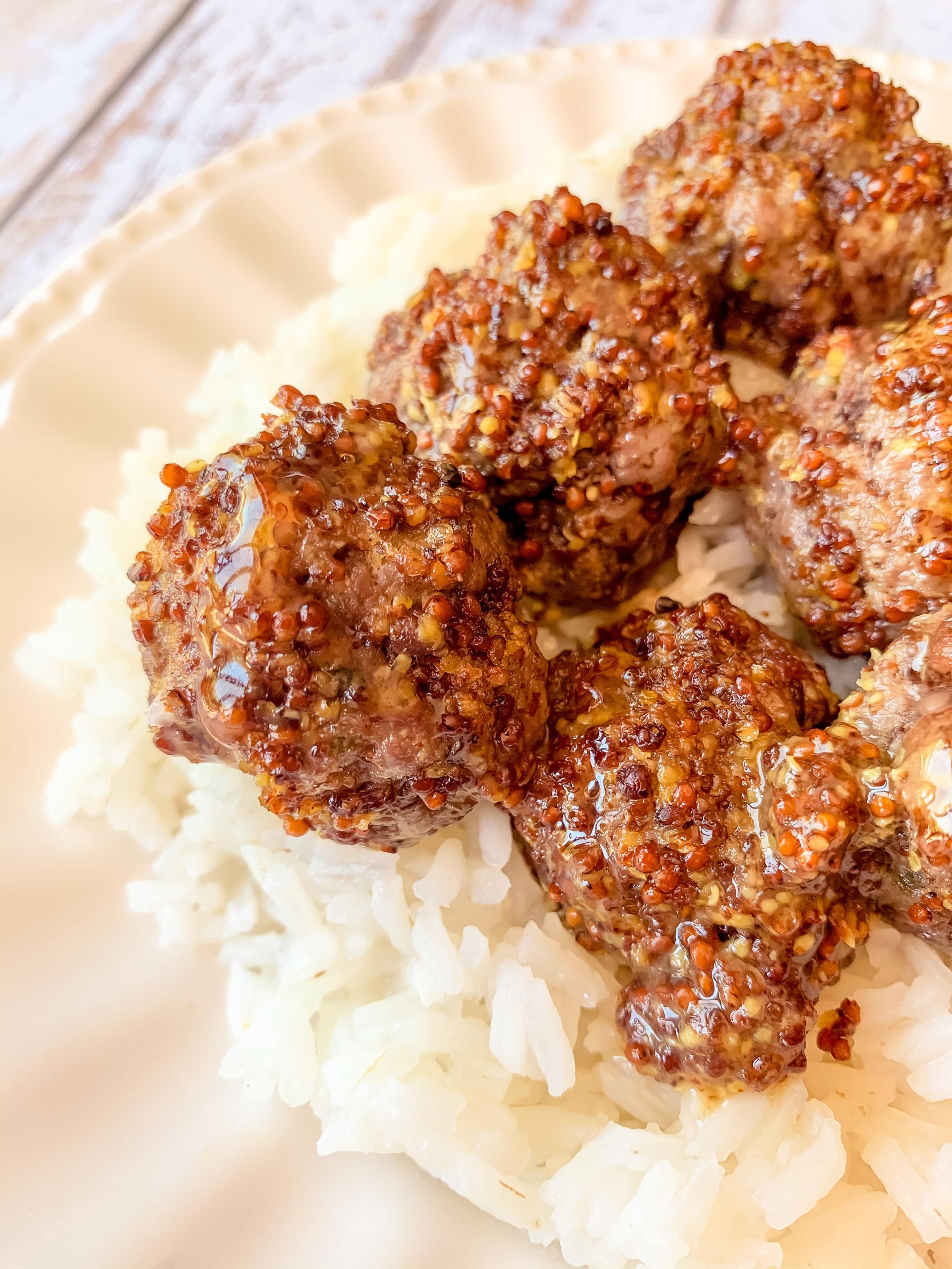 Boulette de viande à la sauce sucré salé