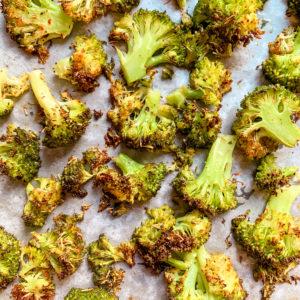 Brocolis rôti au four