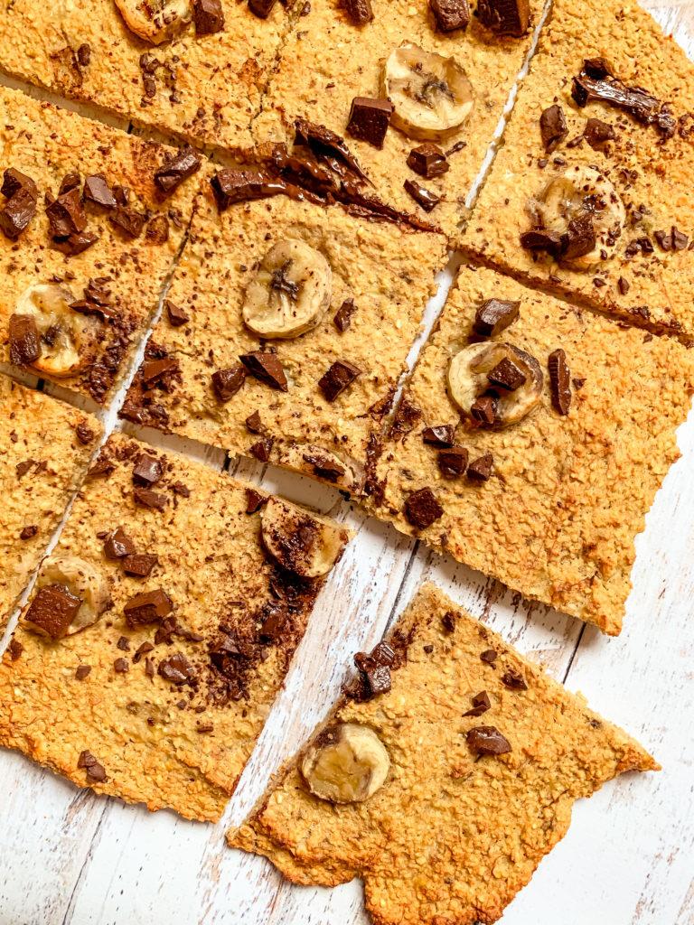 Biscuit avoine banane / chocolat