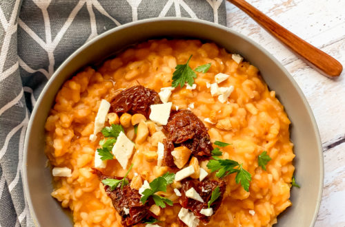 Risotto patate douce