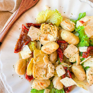 Salade de gnocchis