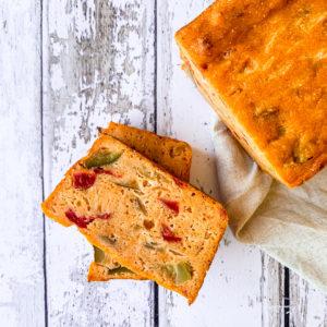 Cake semoule aux légumes