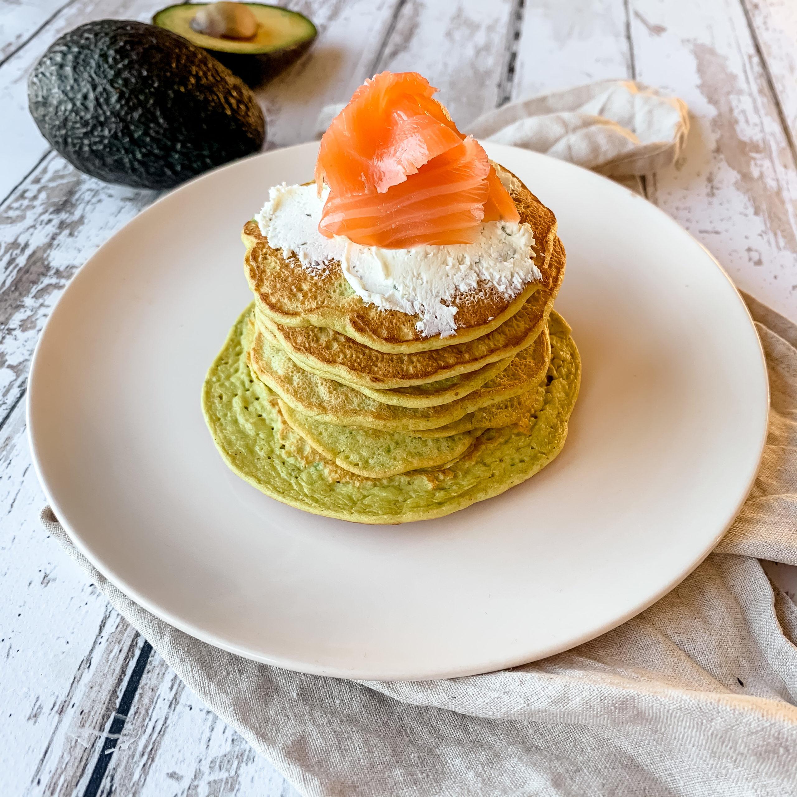Pancakes avocat