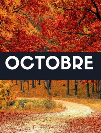 Fruits, légumes et recette du mois d'octobre