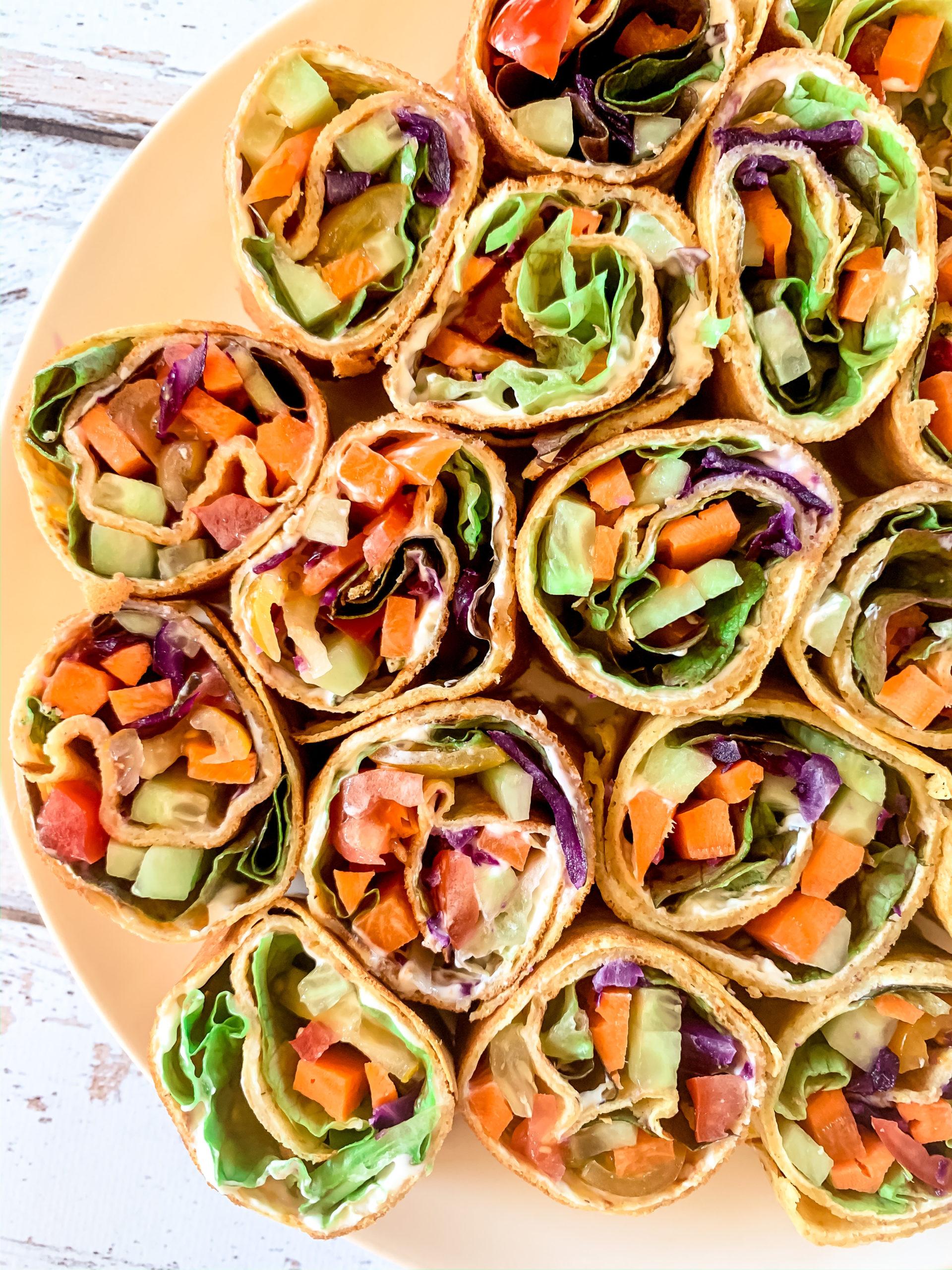 Wraps aux légumes